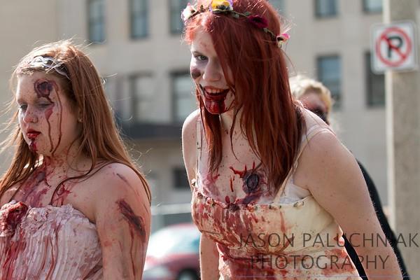 Flint Zombie walk