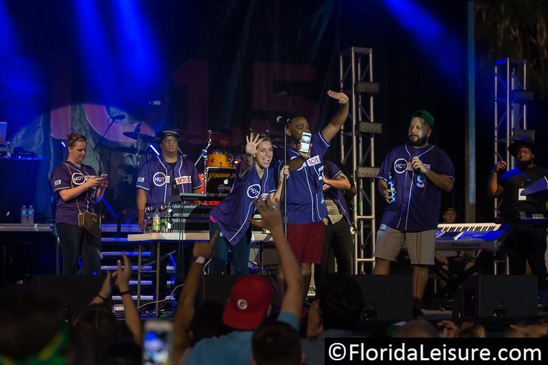 Flo Rida Concert at Tampa Bay Rowdies, Al Lang Stadium, St. Petersburg, Florida - 2nd July 2016 (Photographer: Nigel G Worrall)
