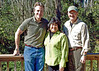 Tom Strickland, Sylvia Pelizza, and Sam Hamilton, Director, USFWS  <i>- George Berman</i>