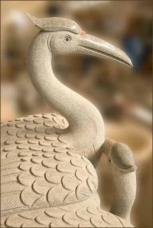 3/09:  Ceramic birds, Flower and Patio Show