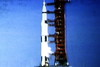 Scenes From The Video Presentation Of the Apollo Moon Rocket Launch Shown In the Apollo Launch Control Center7 007
