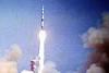 Scenes From The Video Presentation Of the Apollo Moon Rocket Launch Shown In the Apollo Launch Control Center13 013
