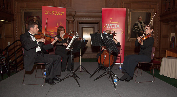 Music by Classical WETA Players in the Paster Reading Room