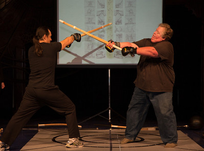 Swordplay of Shakespeare's World demonstration with Brad Waller