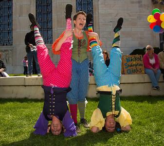 The Nickel Shakespeare Girls do a scene from King John
