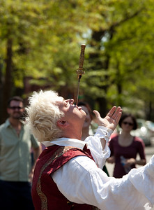 Charon Henning & Alexander Kensington sword swallowers