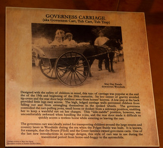 Some words about the governess carriage