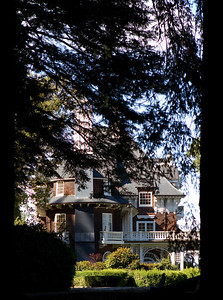 The Folger's mansion