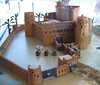 model of desert fort.
