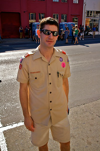 Boy Scouts of America at Folsom Street Fair
