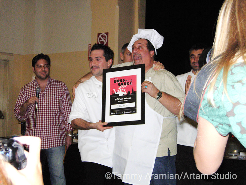 Second place winner - Caesar's Italian Restaurant, Bay & Powell Sts, San Francisco