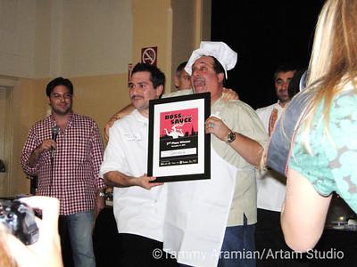 Second place winner - Caesar's Italian Restaurant, Bay & Powell Sts, San Francisco