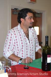 friendly wine server