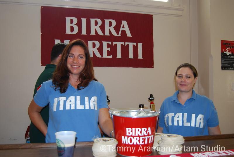 samples of Italian beer