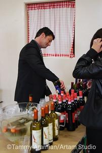 snooty wine server