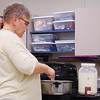 Debbie Blank | The Herald-Tribune<br /> A 6-quart pan, slotted spoon and colander are other pieces of needed cheesemaking equipment, said Bonnie Robbins.