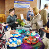 Debbie Blank | The Herald-Tribune<br /> A soapmaker was among over a dozen vendors selling produce, foods and equipment.