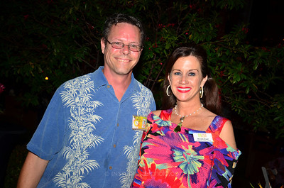 Event host Bill Garst & Michelle Brault of Center for Building Hope.