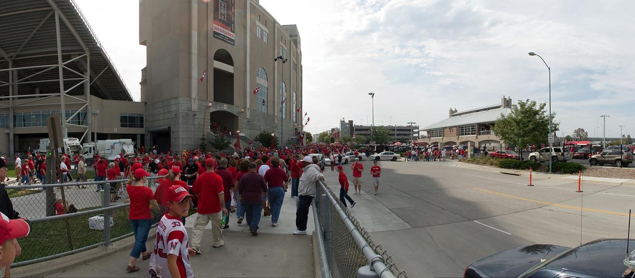 Back to the stadium