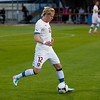 Frantisek Rajtoral in the friendly match against Israel