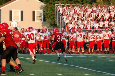 Lutheran West Longhorns first home football game of the 2013 season vs. Firelands. Photo credit: Carol Mueller