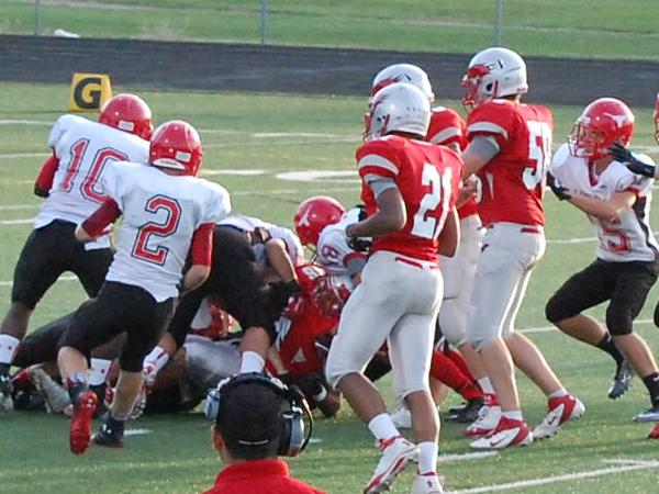 Football vs. Hawken (9/6/2013)