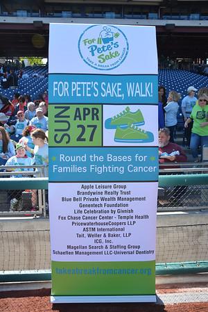 For Pete's Sake Cancer Respite Foundation Walk - 04.27.2014
