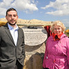 "Cllr Sally Mulready unveils ""Forgotten Irish"" Commemorative Plaque on the East Pier in Dún Laoghaire Tuesday 15 May 2012 at 1pm. An Cathaoirleach Cllr John Bailey welcomed everyone to the event. Photograph Margaret Brown"