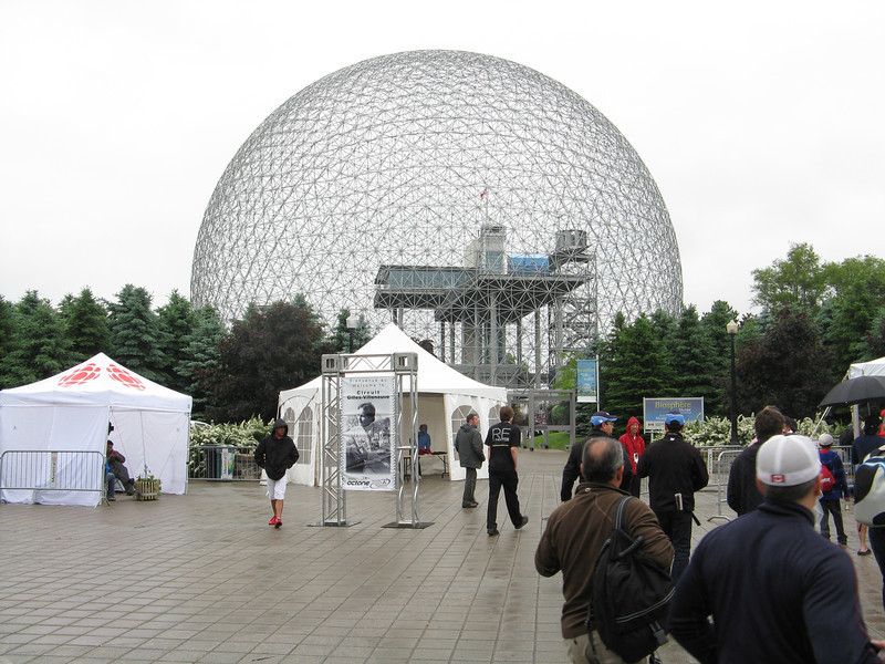The Biosphere was the US pavilion at the Montreal World Expo.