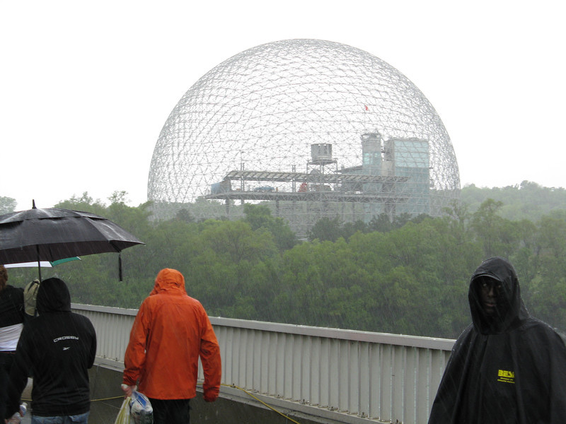 Another shot of the Biosphere.