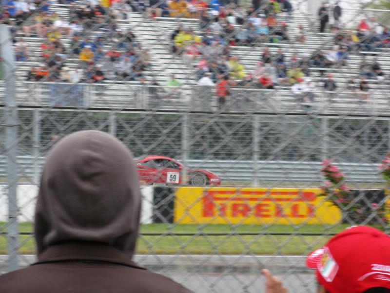 Ferrari 458 Italias sounded great.