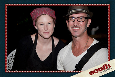 Jen Jenkins (Owner of Foxy Loxy Cafe) and Markus Kuhlmann