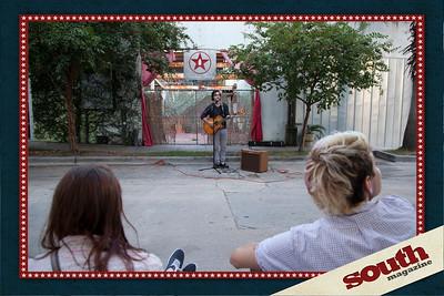 Tyler Wettschreck performing
