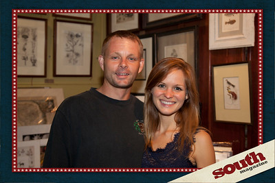 Jason and Jessie Kotarski at Maldoror's Frame Shop