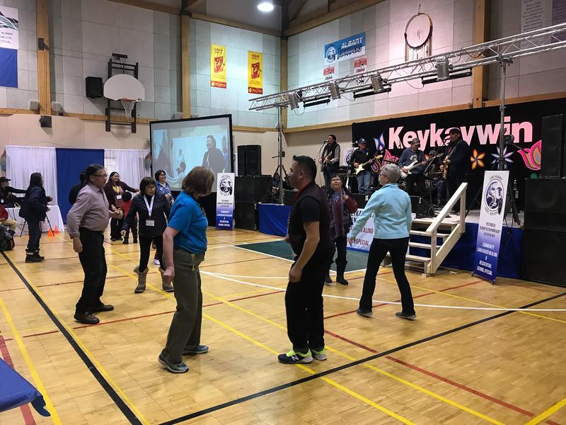Peetabeck Academy Healing Conference dancing