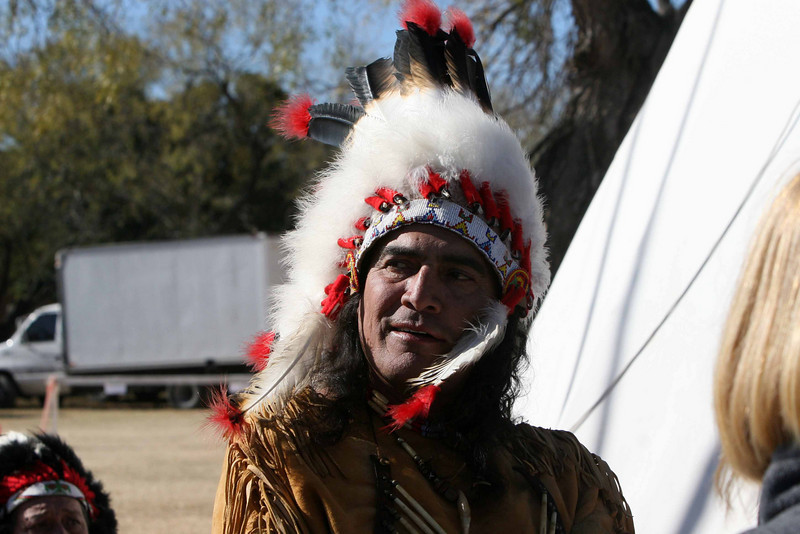 Chief Broken Eagle, Ray Hernandez
