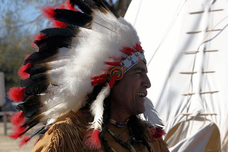 Chief Broken Eagle, Ray Hernandez