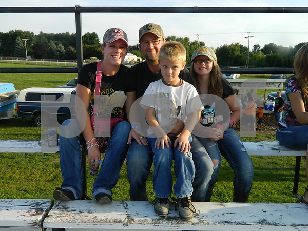 Left to right: Amanda Martens, Nick Martens, Madison Martens, and Joshua Martens