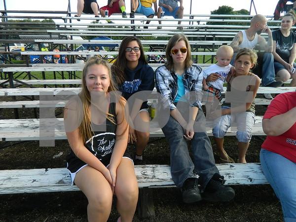 Left to right: Mikayla Pringle, Hanna Pringle, and Izaiah Pringle