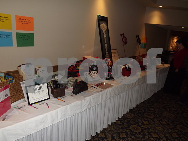 Auction prizes.