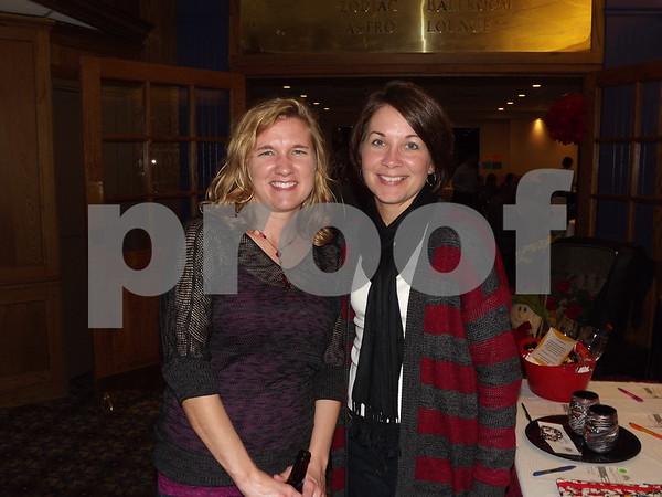 Amnda Pratt and Juli Elsbecker.