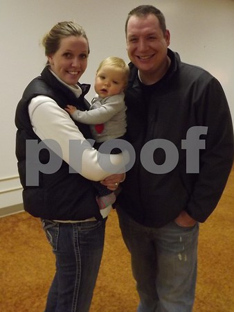 Racheal and Ryan Maehl and baby Blake Ly.