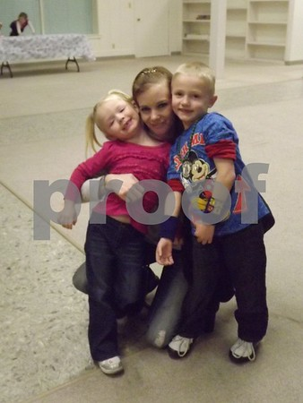 Carol, Jaylean,and  Dominic Stock.