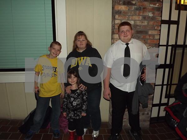 Hunter, Emma, Ann, And Connor Sandahl.