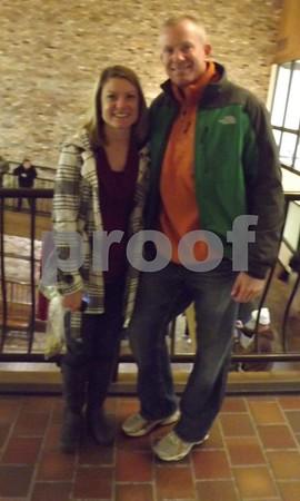 Sarah and Matt Cosgrove.