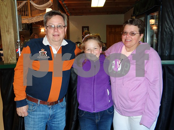 Michael, Alyssa, and Tina Bottorf.