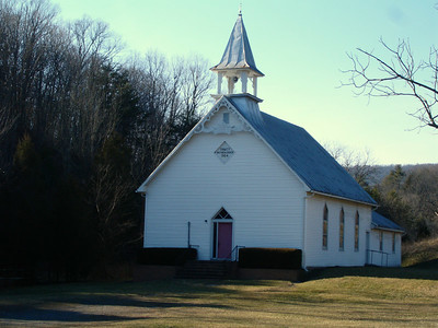 The Trinity Brethren Church in the valley.