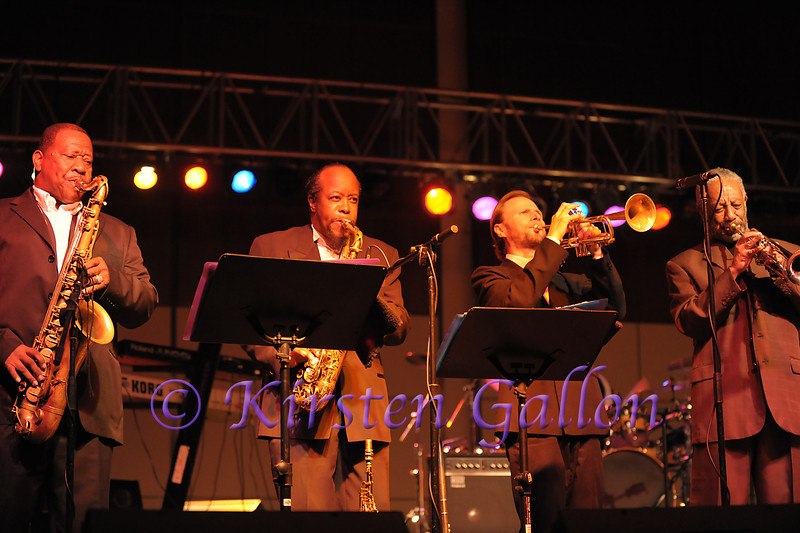 Bobby Blue Bland's superb horn section.