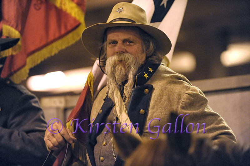 Another gentleman in the Sons of Confederate Veterans group.
