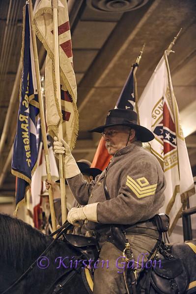 DAN DZIVI of the Sons of Confederate Veterans